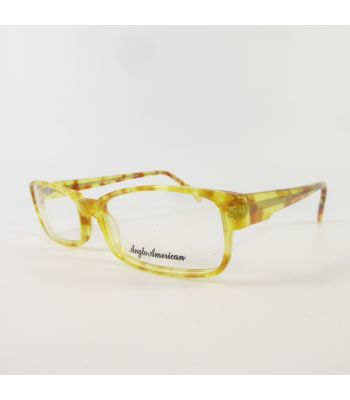 Anglo American Optical Vintage 298 Full Rim E5859