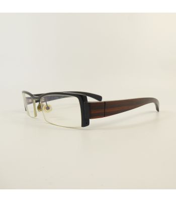 Gold and Wood I05 42 Semi-Rimless G1903