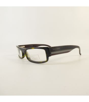 Christian Dior Black Tie 63 Full Rim G8502