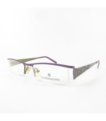 Lulu Castagnette MM097 Semi-Rimless W6192